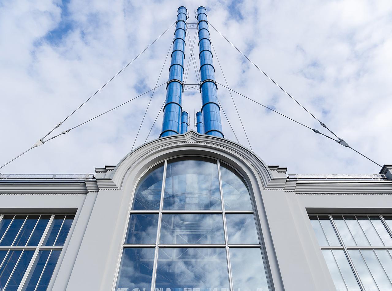 Завершена реконструкция здания бывшей ГЭС-2 в центре Москвы