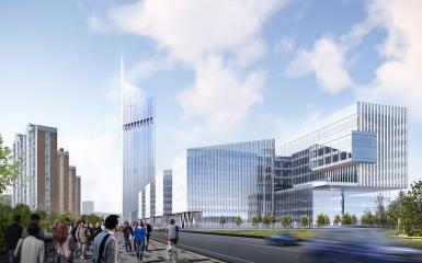 Монолитные конструкции башни НКЦ планируется возводить со скоростью трех-четырех этажей в месяц