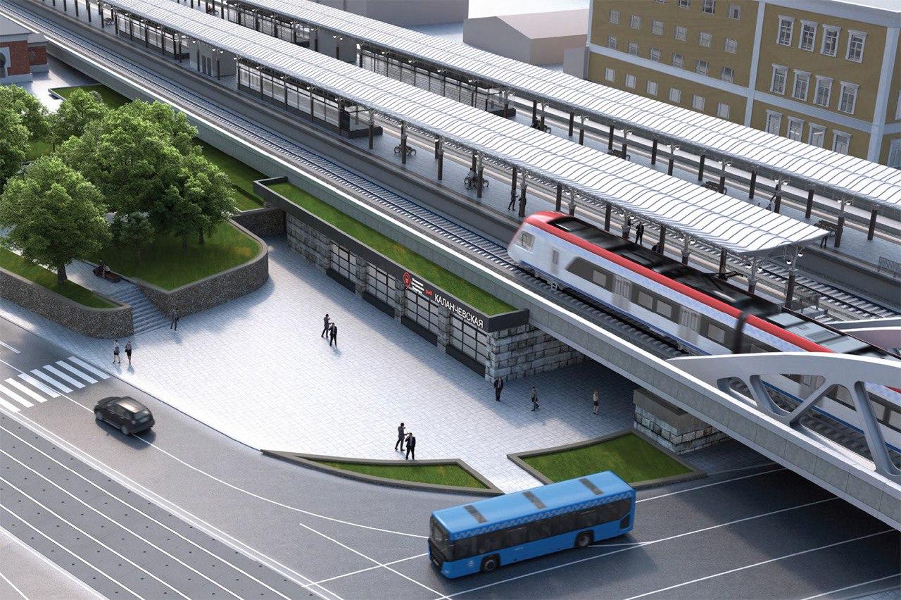 Начался второй этап реконструкции участка железной дороги Каланчевская — Курская