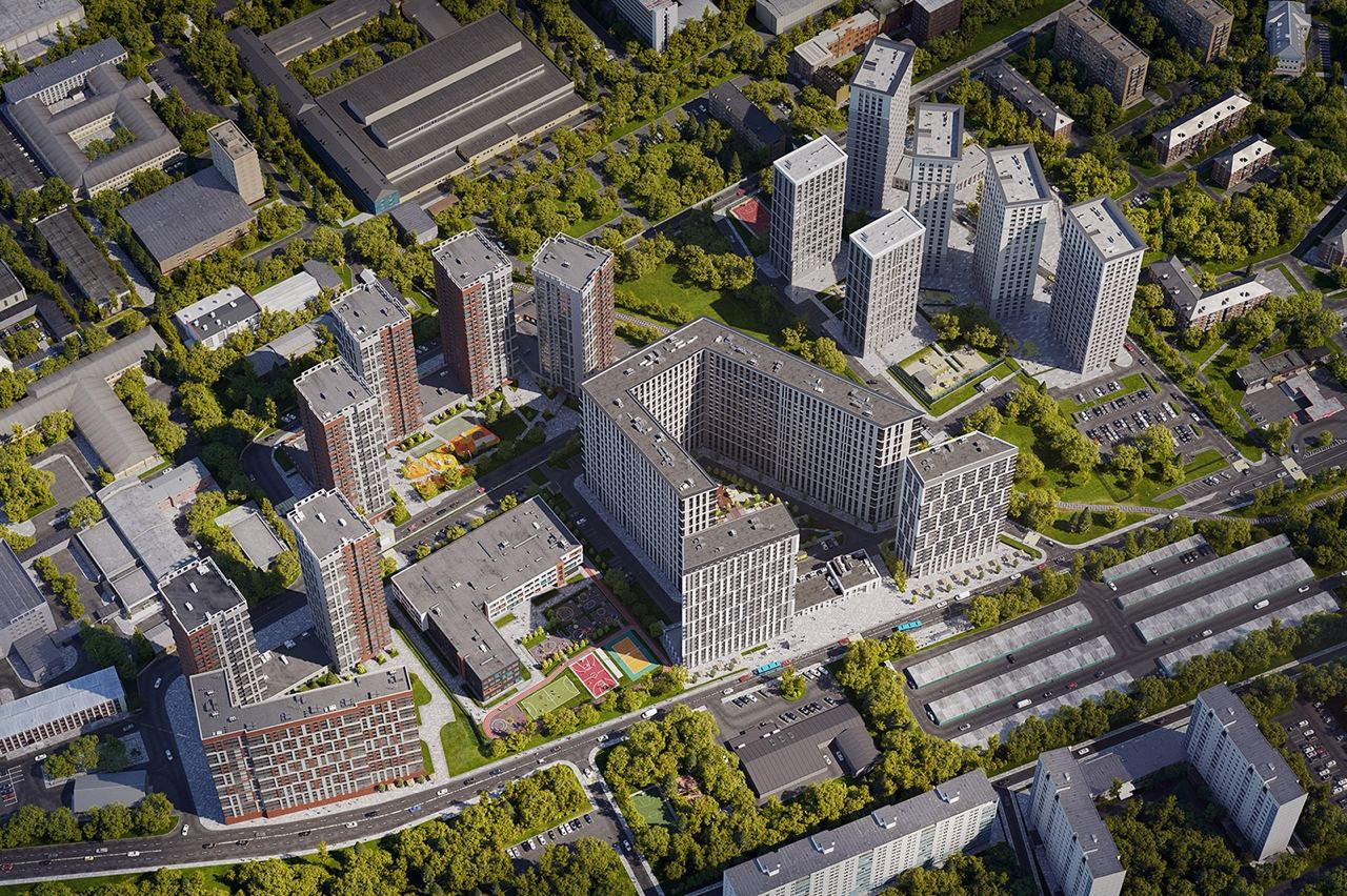 Начинается новый этап развития бывшей промзоны «Октябрьское поле»