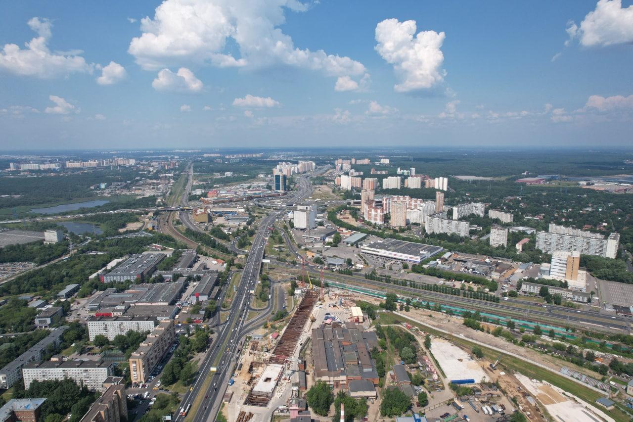 Тоннелепроходка между станциями «Лианозово и «Физтех» выполнена более чем на две трети