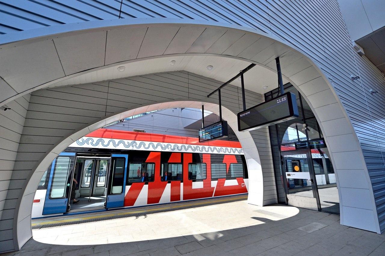 Пассажиропоток станции «Ржевская» МЦД-2 после реконструкции составит около 150 тыс. человек в день