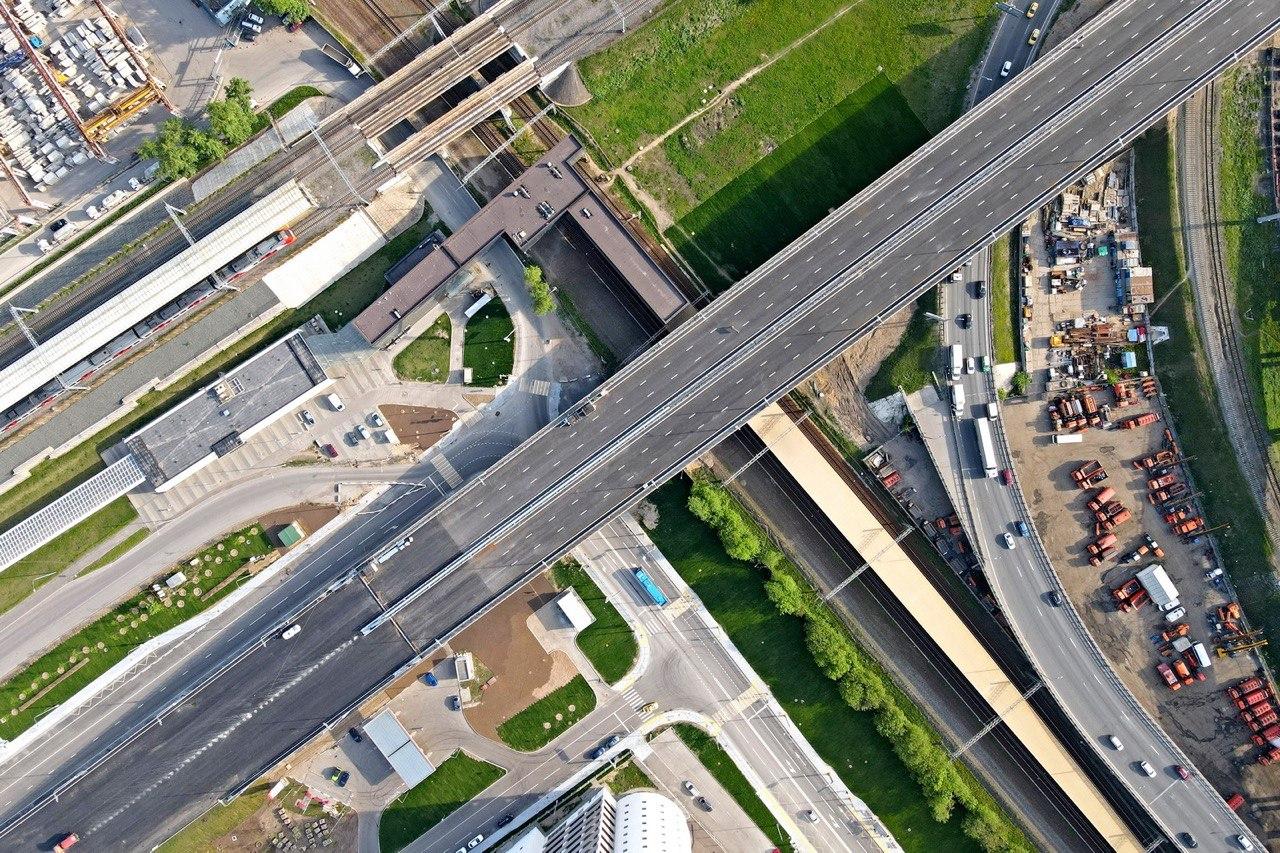 Строительство шести эстакад ведется в рамках проекта дублера Люблинской улицы