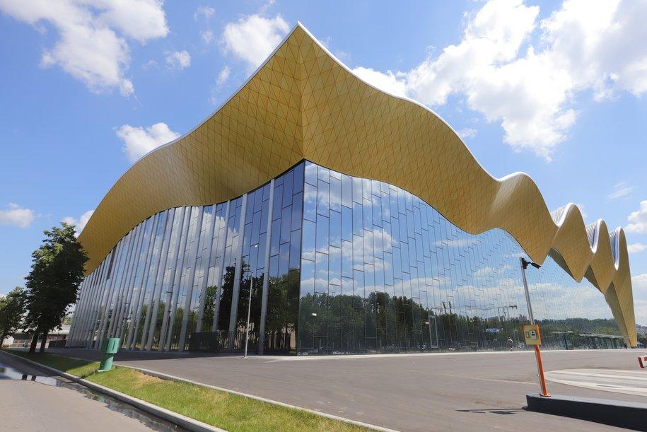 Дворец гимнастики в Лужниках заслужено назван лучшим из лучших
