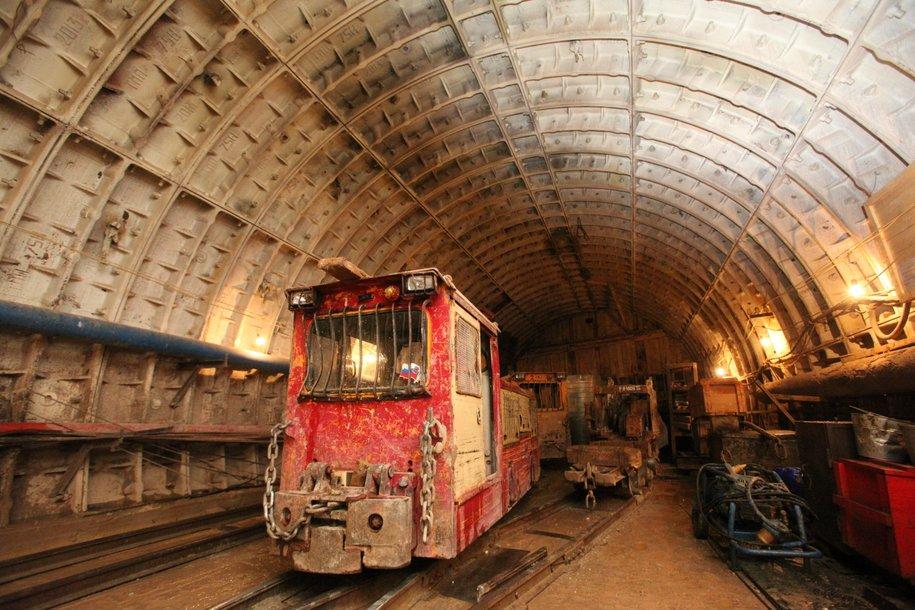 Восточный участок БКЛ метро готов почти наполовину