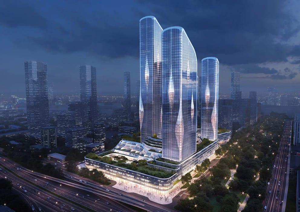 Концерн «КРОСТ» и Zaha Hadid Architects построят в Москве жилой кластер нового типа