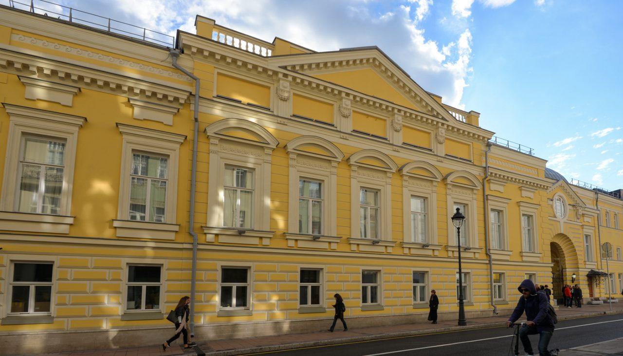 «Геликон-опера» — уникальный проект по восстановлению памятника архитектуры