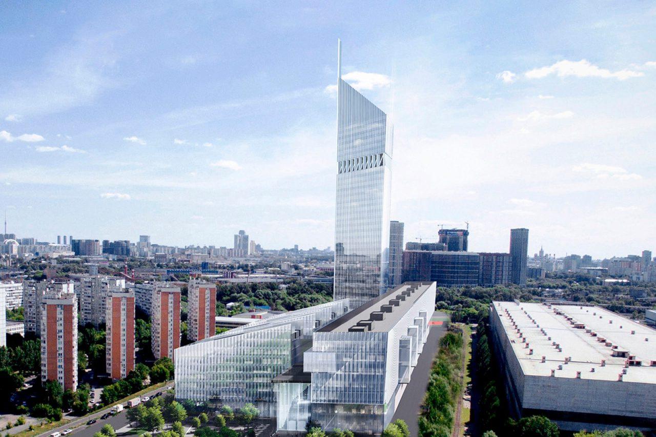 Монтаж металлических перекрытий в зоне галереи НКЦ выполнен на 87%