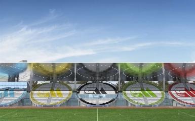 Работы по реконструкции стадиона «Москвич» выполнены на 65%