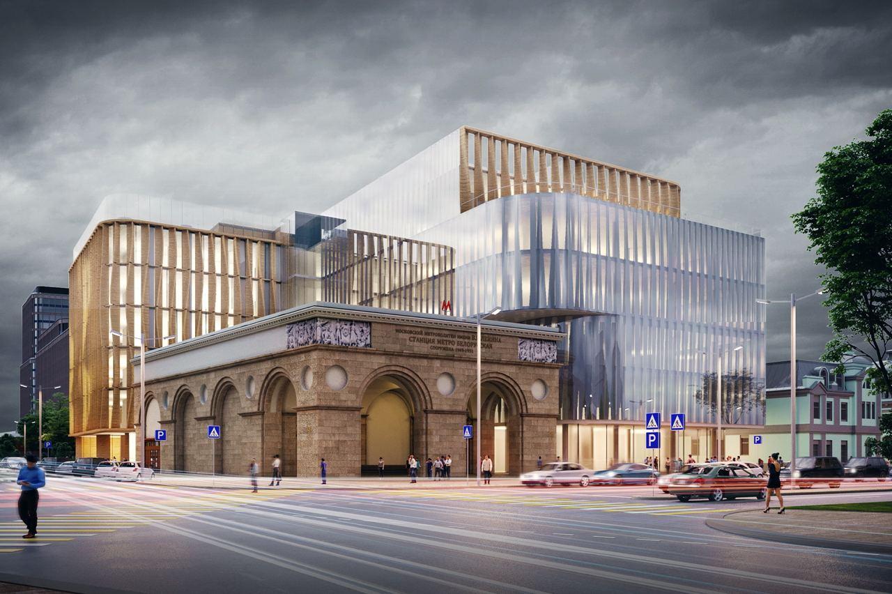Строительство общественно-рекреационного комплекса у метро «Белорусская» завершат в 2023 году