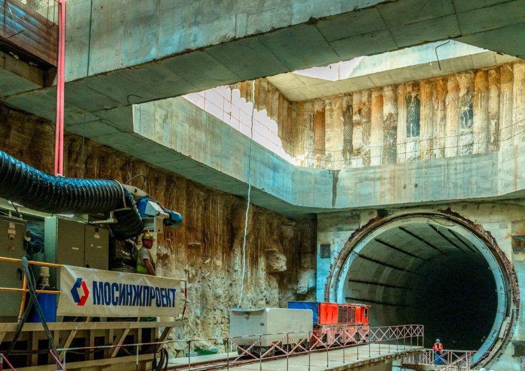 Все тоннели БКЛ будут пройдены до конца года