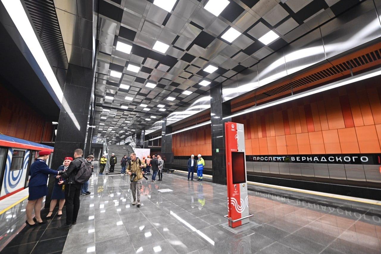 Открытие нового участка БКЛ разгрузит две действующие станции метро и улично-дорожную сеть