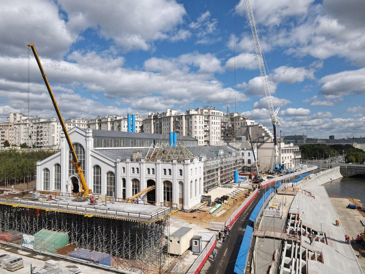 Более 20 объектов культуры построят в Москве к 2024 году