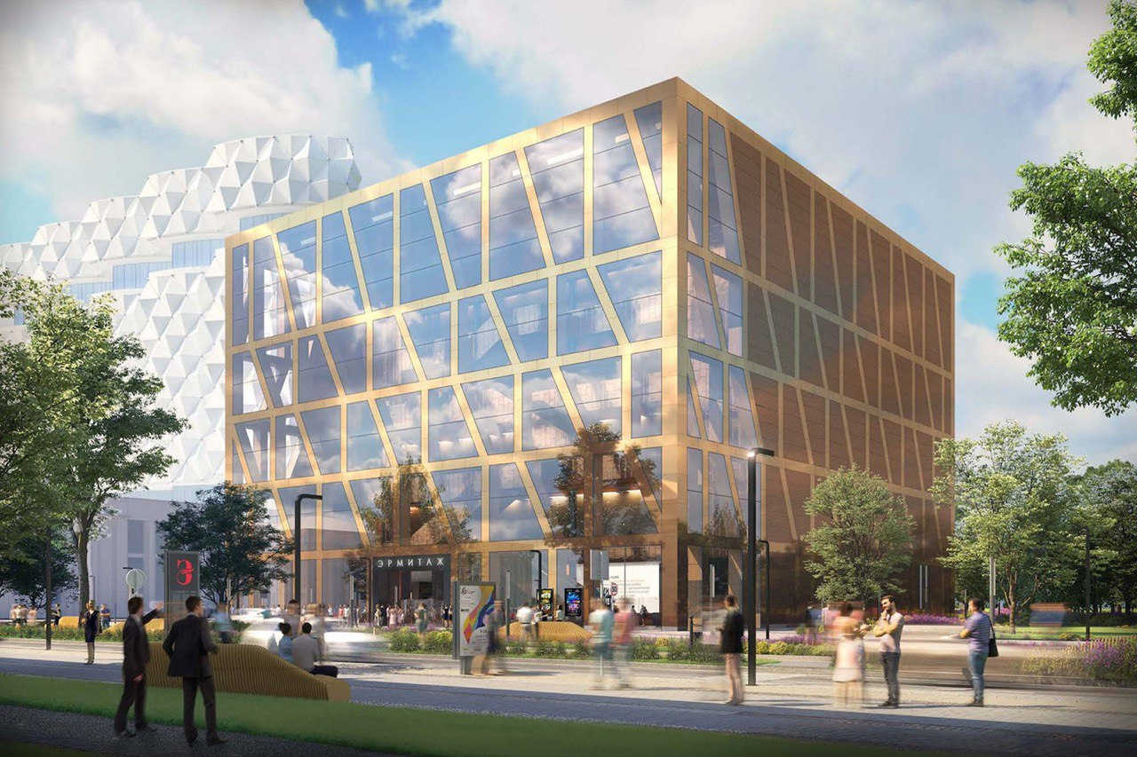 Согласована архитектурная концепция здания московского филиала Эрмитажа на ЗИЛе