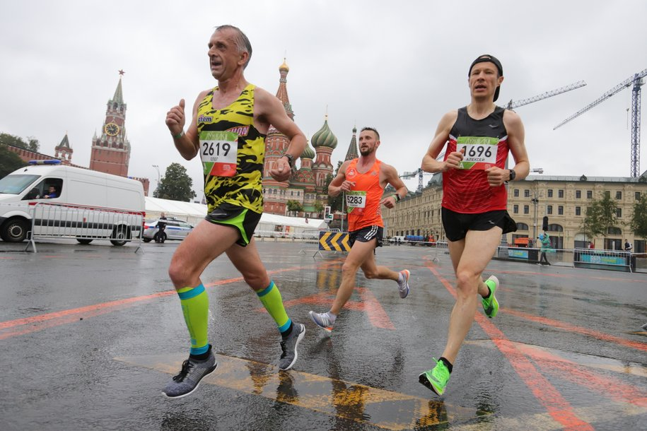 Московский марафон отменили из-за эпидобстановки в городе