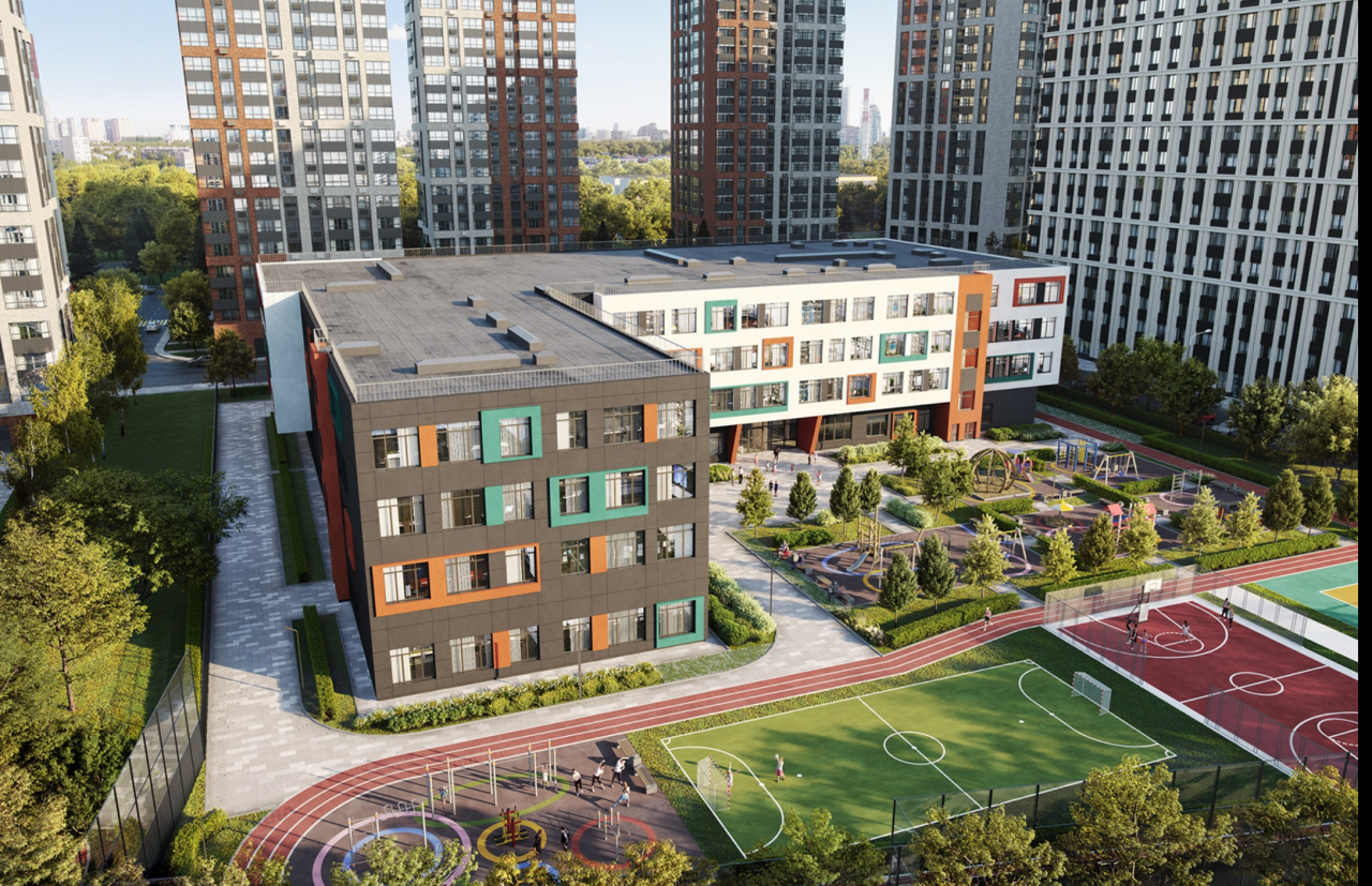 119 рабочих мест даст строительство школы на 12,5 тыс. кв. м в районе Щукино