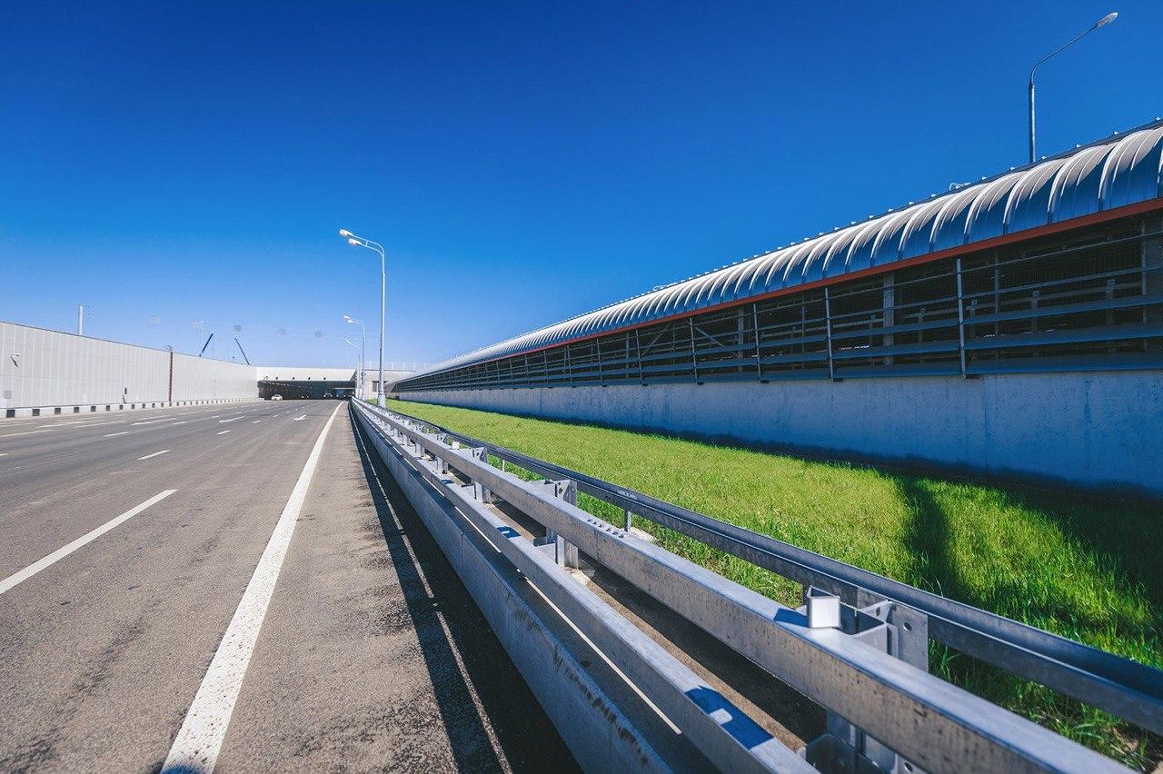Участок трассы «Солнцево-Бутово-Варшавское шоссе» от Боровского до Киевского шоссе готов более чем на треть