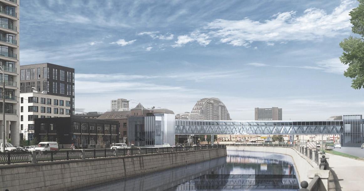 В Москве появится новый пешеходный мост через Яузу